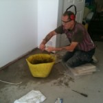 Concrete screed repairs