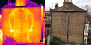 Thermal imaging energy and heat loss survey