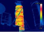 Turbine thermal image