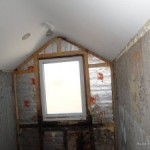 Timber frame roof water damage