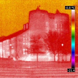 Keele University Chapel Thermal Imaging Survey