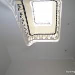 Warped spiral staircase – structural movement survey