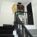 Water damaged flat in London