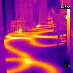 Energy inefficient Underfloor Heating