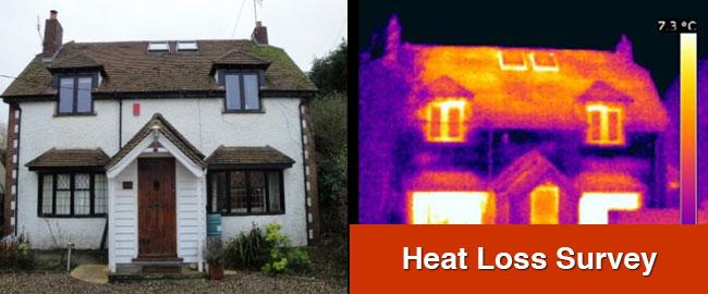 Heat Loss Survey London