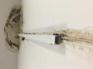leak detection - wet wall