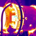Gas turbine thermal image