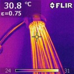 Shower thermal image