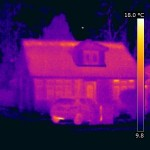 Bungalow roof energy loss point