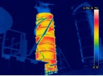 Turbine thermal image
