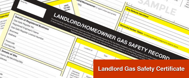 Landlord Gas Safety Certificate Essex