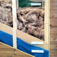 Missing Insulation in Wooden Frame External Wall