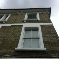 Concrete Windows Split and Fallen Away in NW1, Camden